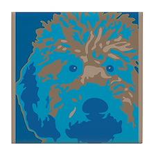 Unique Dogs for obama Tile Coaster