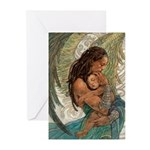 Angel of Caring Greeting Cards (Pk of 10)