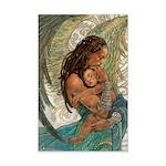 Angel of Caring Mini Poster Print