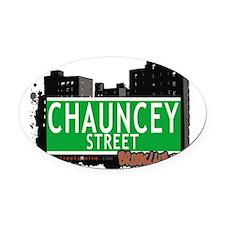 Chauncey street, BROOKLYN, NYC Oval Car Magnet