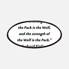 Kipling - Strength of Pack Patch