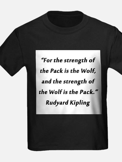 Kipling - Strength of Pack T