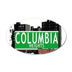Columbia heights, BROOKLYN, NYC Wall Decal