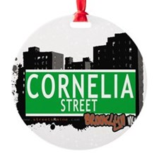 Cornelia street, BROOKLYN, NYC Ornament