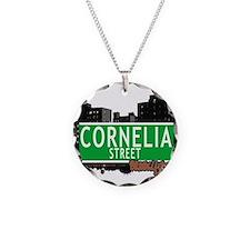 Cornelia street, BROOKLYN, NYC Necklace