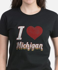 I Love Michigan (Vintage) Tee