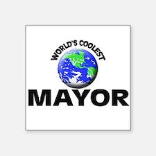 World's Coolest Mayor Sticker