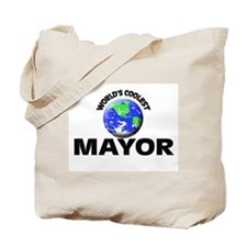 World's Coolest Mayor Tote Bag