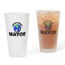 World's Coolest Mayor Drinking Glass