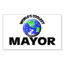 World's Coolest Mayor Decal