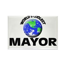 World's Coolest Mayor Rectangle Magnet