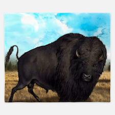 Prairie Bison King Duvet