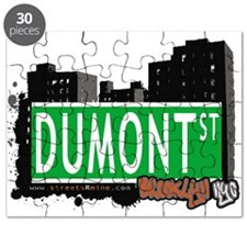 DUMONT ST, BROOKLYN, NYC Puzzle