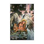 Angel of Nature Mini Poster Print