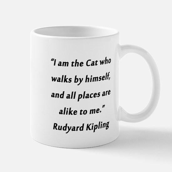 Kipling - Cat Who Walks Mug