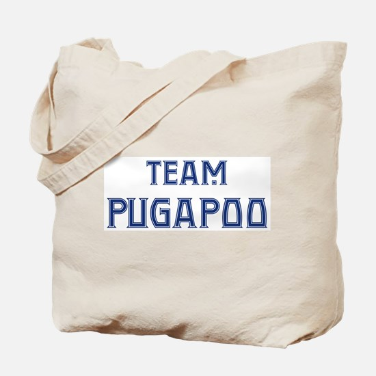 Team Pugapoo Tote Bag