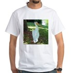 pelican White T-Shirt