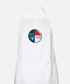 Asheville North Carolina Flag BBQ Apron