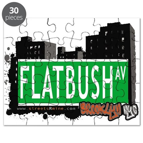 FLATBUSH AV, BROOKLYN, NYC Puzzle