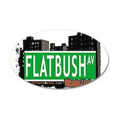 FLATBUSH AV, BROOKLYN, NYC Wall Decal
