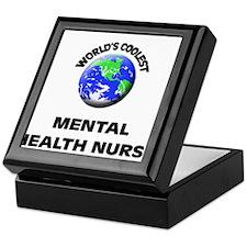 World's Coolest Mental Health Nurse Keepsake Box