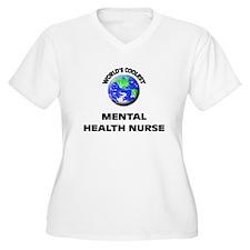 World's Coolest Mental Health Nurse Plus Size T-Sh