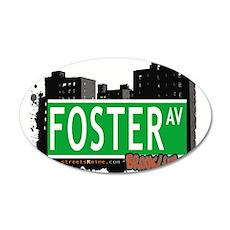 Foster AV, BROOKLYN, NYC Wall Decal