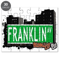 FRANKLIN AV, BROOKLYN, NYC Puzzle