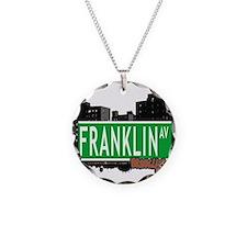 FRANKLIN AV, BROOKLYN, NYC Necklace