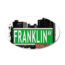 FRANKLIN AV, BROOKLYN, NYC Wall Decal