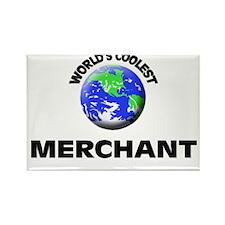 World's Coolest Merchant Rectangle Magnet