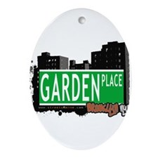 GARDEN PLACE, BROOKLYN, NYC Ornament (Oval)