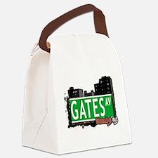 GATES AV, BROOKLYN, NYC Canvas Lunch Bag