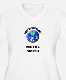 World's Coolest Metal Smith Plus Size T-Shirt
