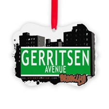 GERRITSEN AVENUE, BROOKLYN, NYC Ornament