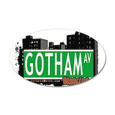 GOTHAM AV, BROOKLYN, NYC Wall Decal