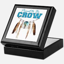 Proud to be Crow Keepsake Box