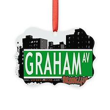 GRAHAM AV, BROOKLYN, NYC Ornament