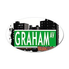 GRAHAM AV, BROOKLYN, NYC Wall Decal