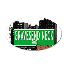 GRAVESEND NECK ROAD, BROOKLYN, NYC Wall Decal