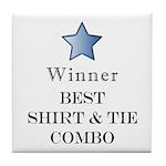The Snappy Dresser Award - Tile Coaster