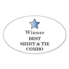 The Snappy Dresser Award - Oval Decal