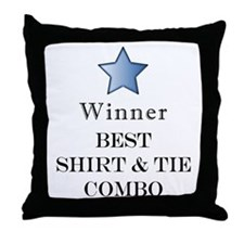 The Snappy Dresser Award - Throw Pillow
