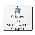 The Snappy Dresser Award - Mousepad
