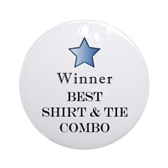 The Snappy Dresser Award - Ornament (Round)