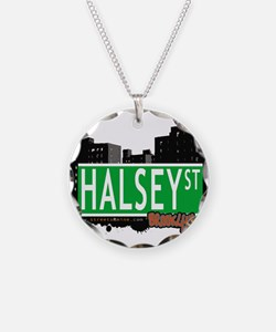 HALSEY ST, BROOKLYN, NYC Necklace