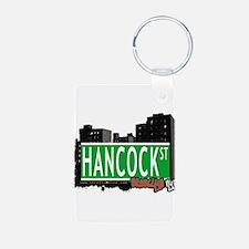 HANCOCK ST, BROOKLYN, NYC Keychains