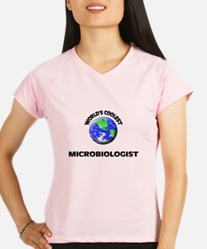 World's Coolest Microbiologist Peformance Dry T-Sh