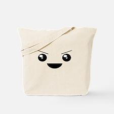 Kawaii Mischievous Face Tote Bag