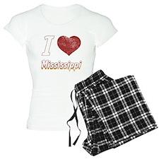 I Love Mississippi (Vintage) pajamas